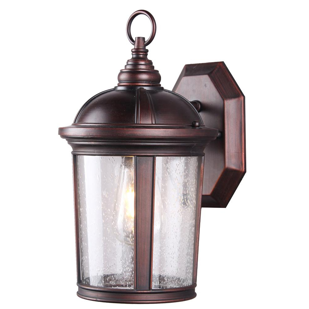 Featured Photo of 1 – Bulb Outdoor Wall Lanterns