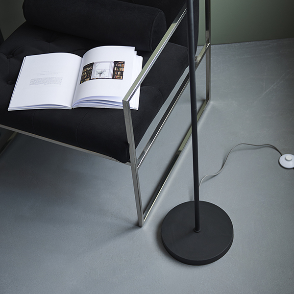 2018 Hector 2 Light Floor Lamp Textured Black – Nottingham With Regard To Sheard Textured Black 2 – Bulb Wall Lanterns (View 9 of 15)