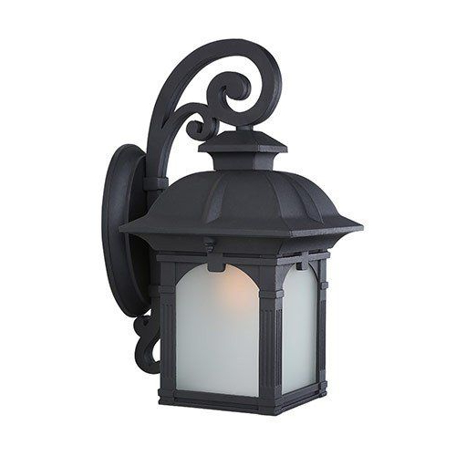 2018 Lnc Industrial Edison Vintage Style 1 Light Outdoor Porch Inside Rickey Matte Antique Black Wall Lanterns (View 10 of 15)