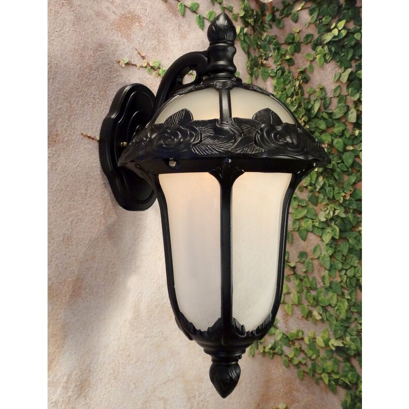 2019 Brierly Oil Rubbed Bronze/black 12'' H Outdoor Wall Lanterns In Astoria Grand Morningside Drive 1 Light Outdoor Wall (View 10 of 15)