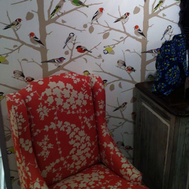 2019 Cute Chair & Wallpaper In Vera Bradley Showroom! (View 7 of 15)