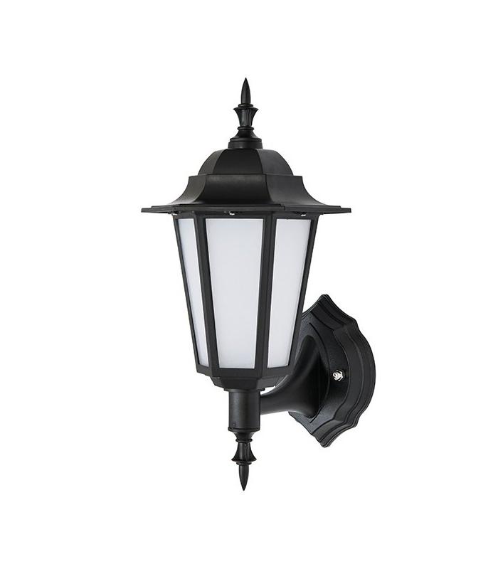 2019 Integrated Led 1 Light Outdoor Wall Lantern Matt Black With Regard To Merild Textured Black Wall Lanterns (View 3 of 15)
