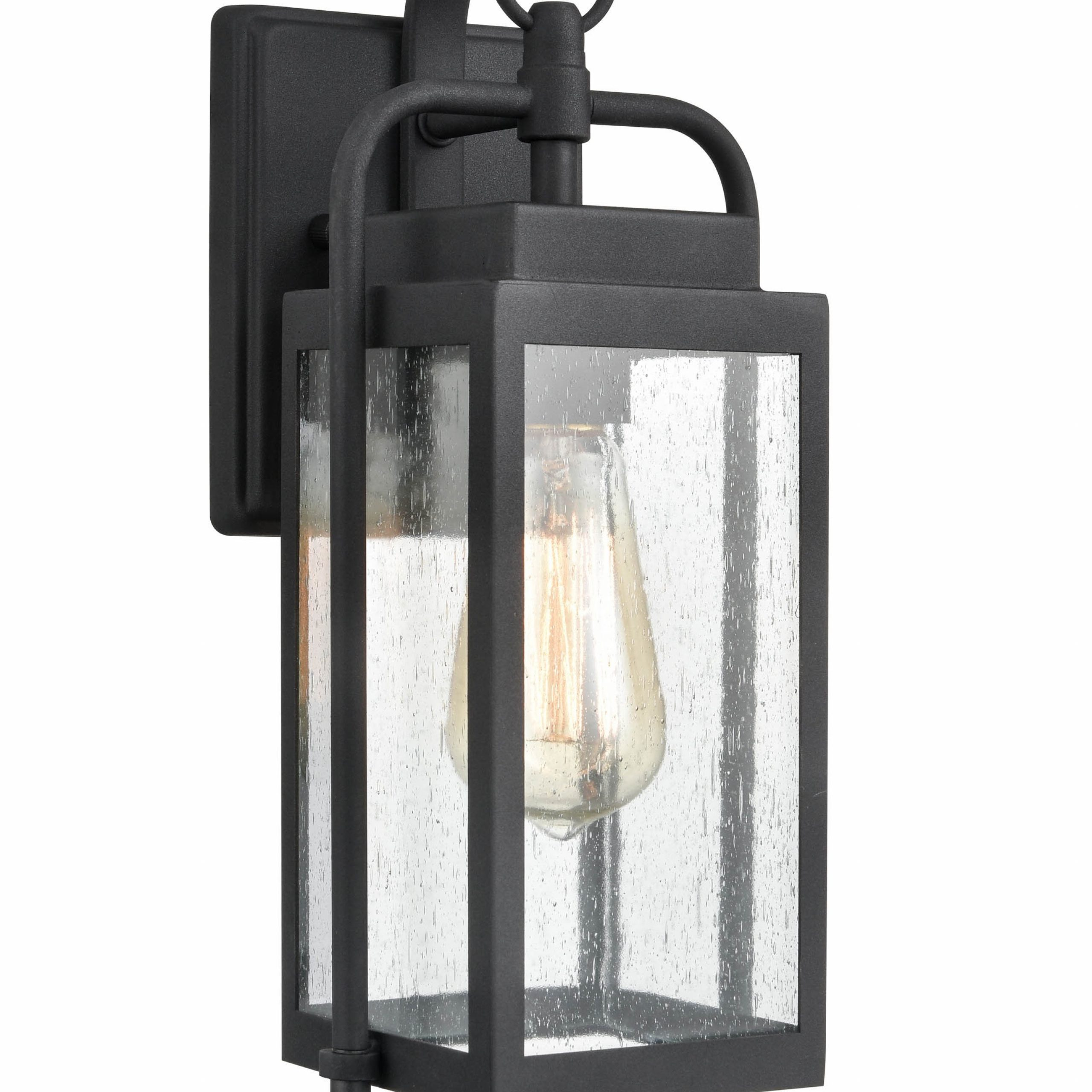 Journey Outdoor Glass Wall Lanterns (View 8 of 9)