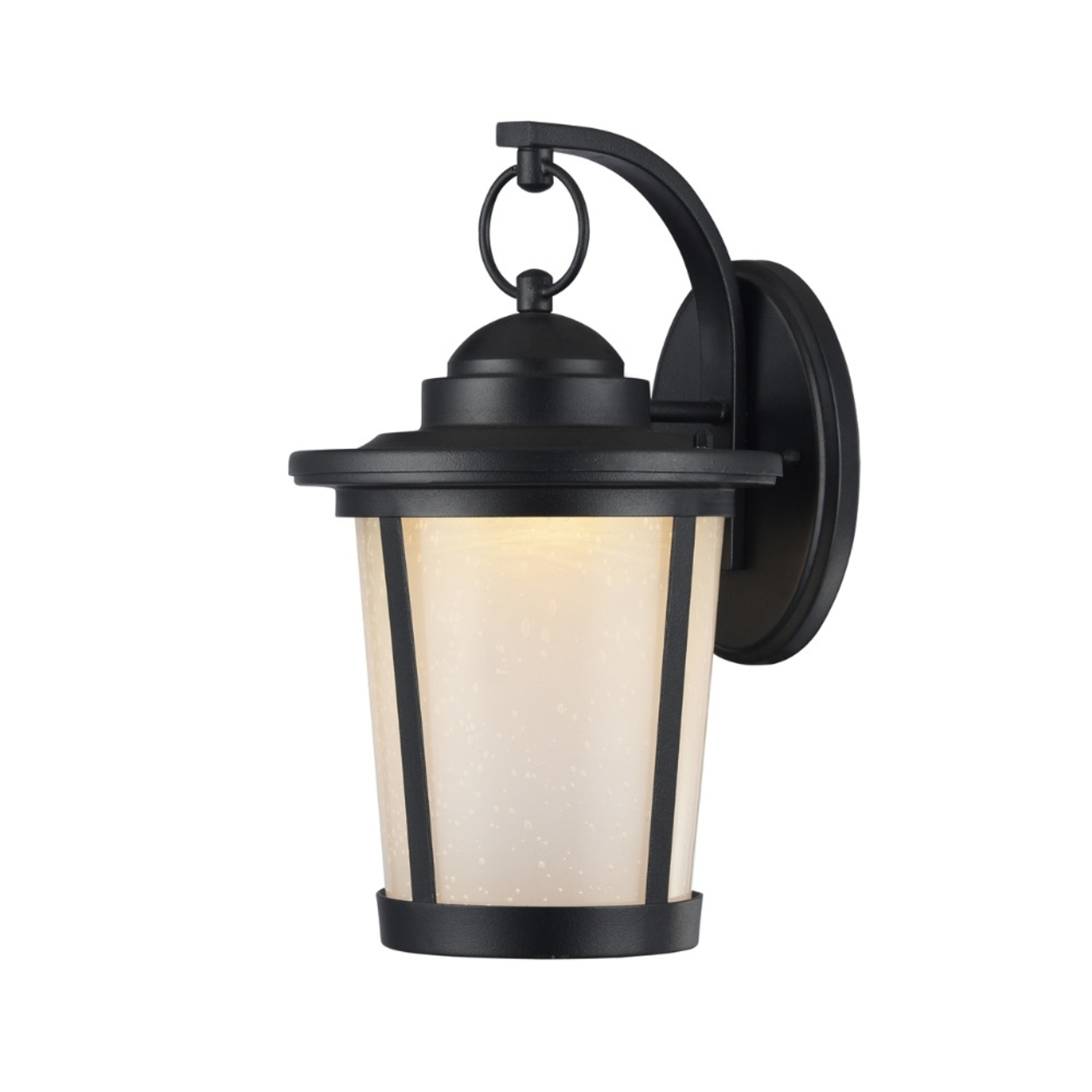 Abbington Transitional Black 1 Light Outdoor Wall Sconce Within Well Liked 1 – Bulb Outdoor Wall Lanterns (View 6 of 15)