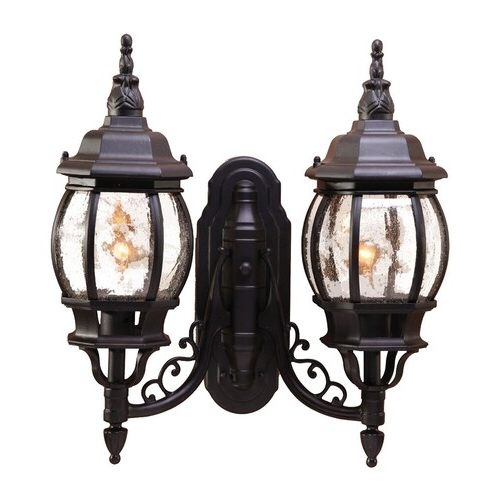 Acclaim Lighting Chateau 20 In H Matte Black Outdoor Wall Within Famous Mccay Matte Black Outdoor Wall Lanterns (View 6 of 15)