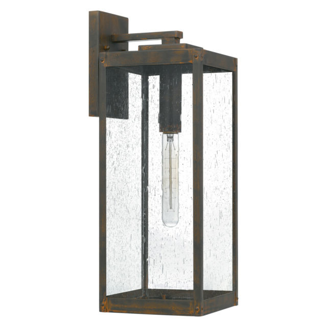 Ainsworth Earth Black Outdoor Wall Lanterns With Regard To Trendy Quoizel Wvr8407ek Westover 1 Light 20 Inch Earth Black (View 8 of 15)