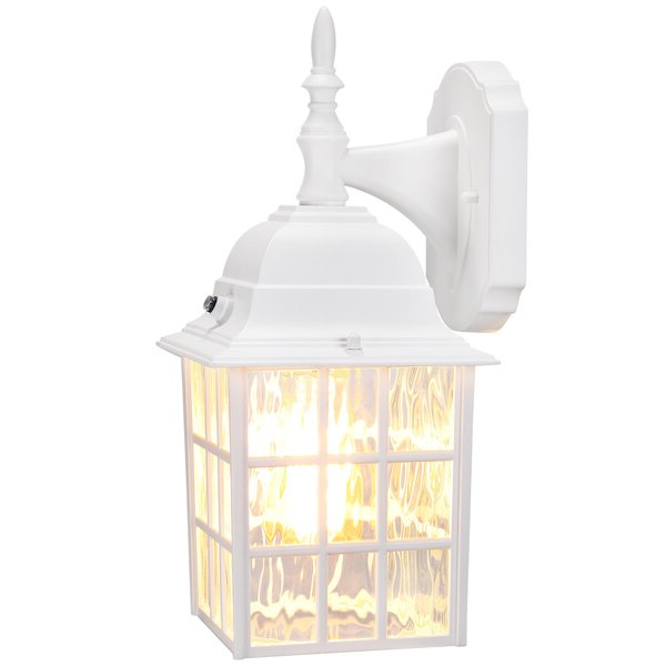 """Andover Mills™ Edenfield 1 – Bulb 13.78"""" H Outdoor Wall With Widely Used Edenfield  (View 3 of 5)"""
