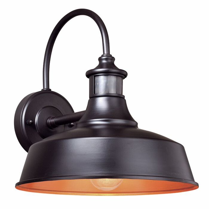 Andover Mills™ Gunnora 1 – Bulb Outdoor Barn Light With With Regard To Trendy Gunnora Outdoor Barn Lights With Dusk To Dawn (View 14 of 15)