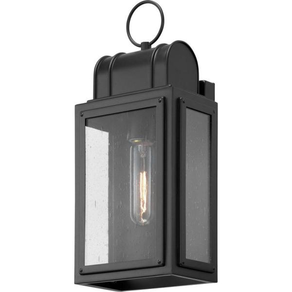 Armanno Matte Black Wall Lanterns Pertaining To Favorite Progress Lighting Park Court 1 Light 15 In (View 7 of 15)