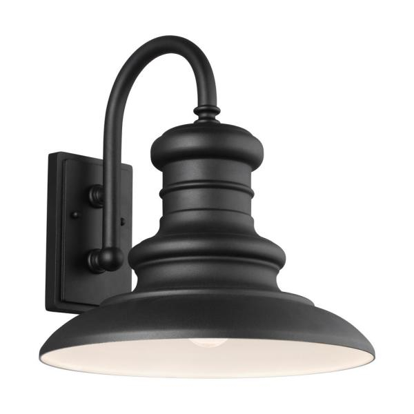 Bellefield Black 15'' H Outdoor Wall Lanterns In Most Recent Feiss Redding Station 15 In (View 9 of 15)