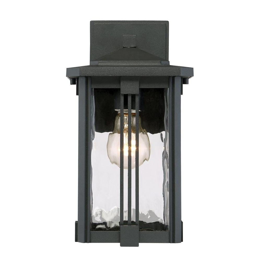 Best And Newest Quoizel Lighting Everglade Earth Black Outdoor Wall Light In Ainsworth Earth Black Outdoor Wall Lanterns (View 5 of 15)