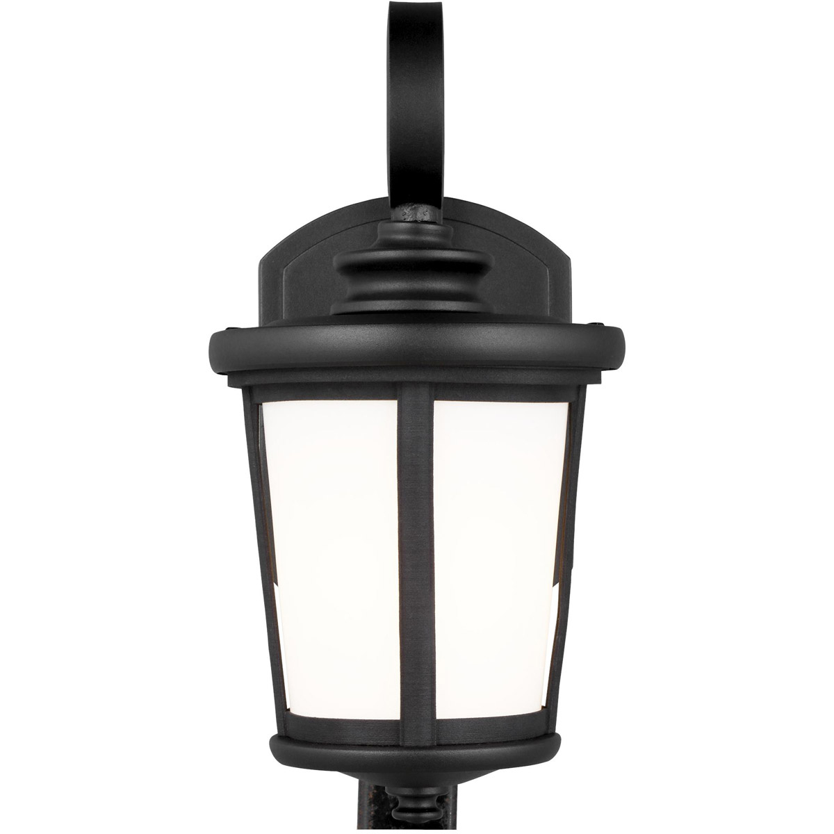 Best And Newest Rockmeade Black 11'' H Outdoor Wall Lanterns Within Sea Gull Lighting 8519301 12 Eddington Outdoor Wall Light (View 12 of 15)