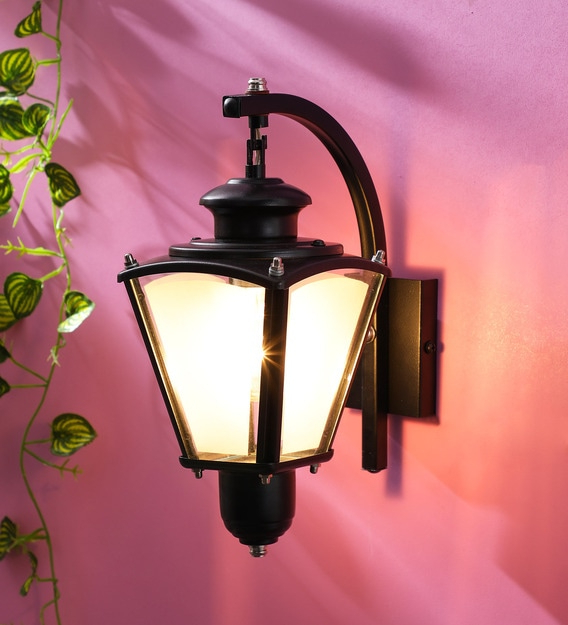 Buy Exterior Black Metal Outdoor Wall Lightsuperscape For Latest Malak Outdoor Wall Lanterns (View 8 of 15)