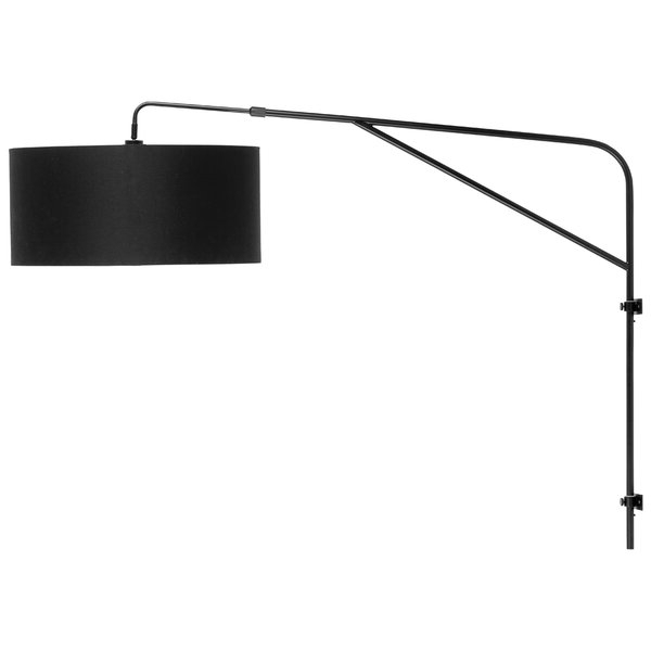 Cantrall 8'' H Outdoor Armed Sconces Throughout Fashionable Ebern Designs Branice 1 Light Armed Sconce (View 12 of 15)