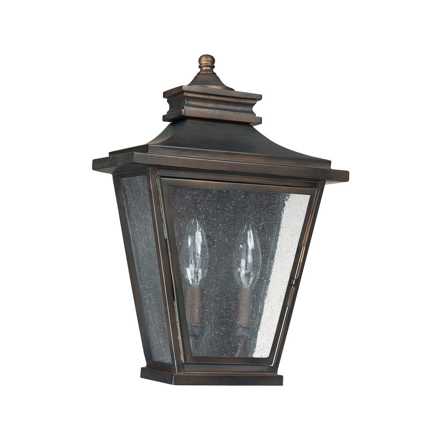 Capital Lighting 9460 Bronze Astor 2 Light Ada Compliant For Preferred Chicopee 2 – Bulb Glass Outdoor Wall Lanterns (View 13 of 15)