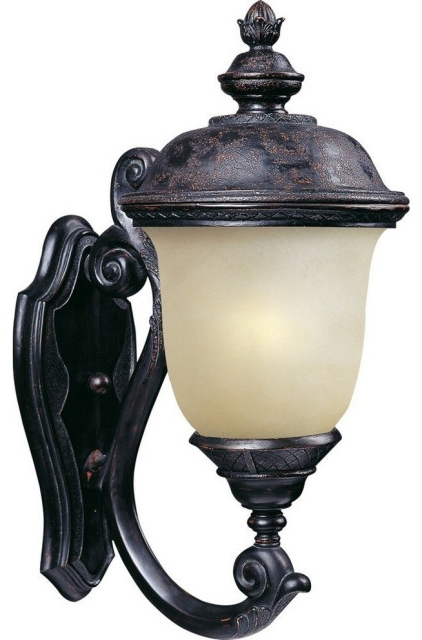 Carriage House Led 1 Light Outdoor Wall Lantern Within Most Recently Released 1 – Bulb Outdoor Wall Lanterns (View 15 of 15)