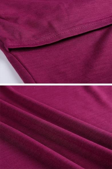 Casual Cozy Short Sleeve Round Neck Stripe Print Nursing With Regard To Current Edinburg Black  (View 12 of 15)