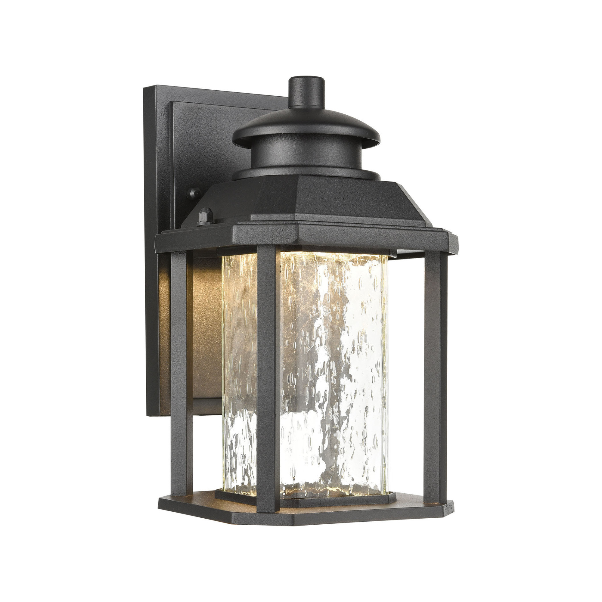 Featured Photo of Clarence Black 10'' H Outdoor Wall Lanterns