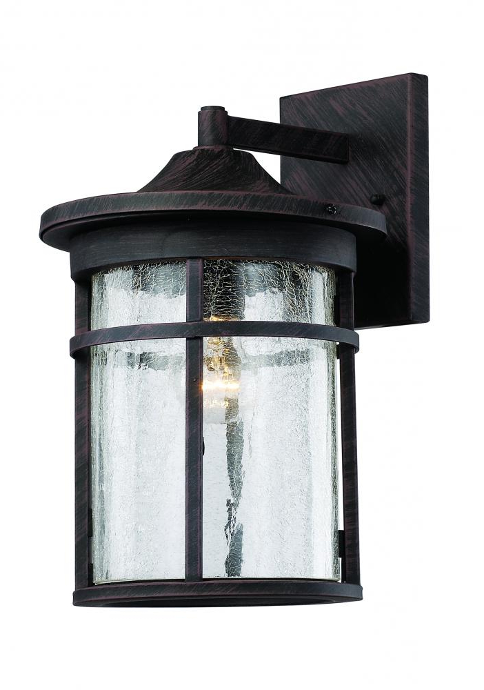 Clarisa Seeded Glass Outdoor Barn Lights With Dusk To Dawn Intended For Most Recent Pin On Outdoor Lighting Client (View 12 of 15)