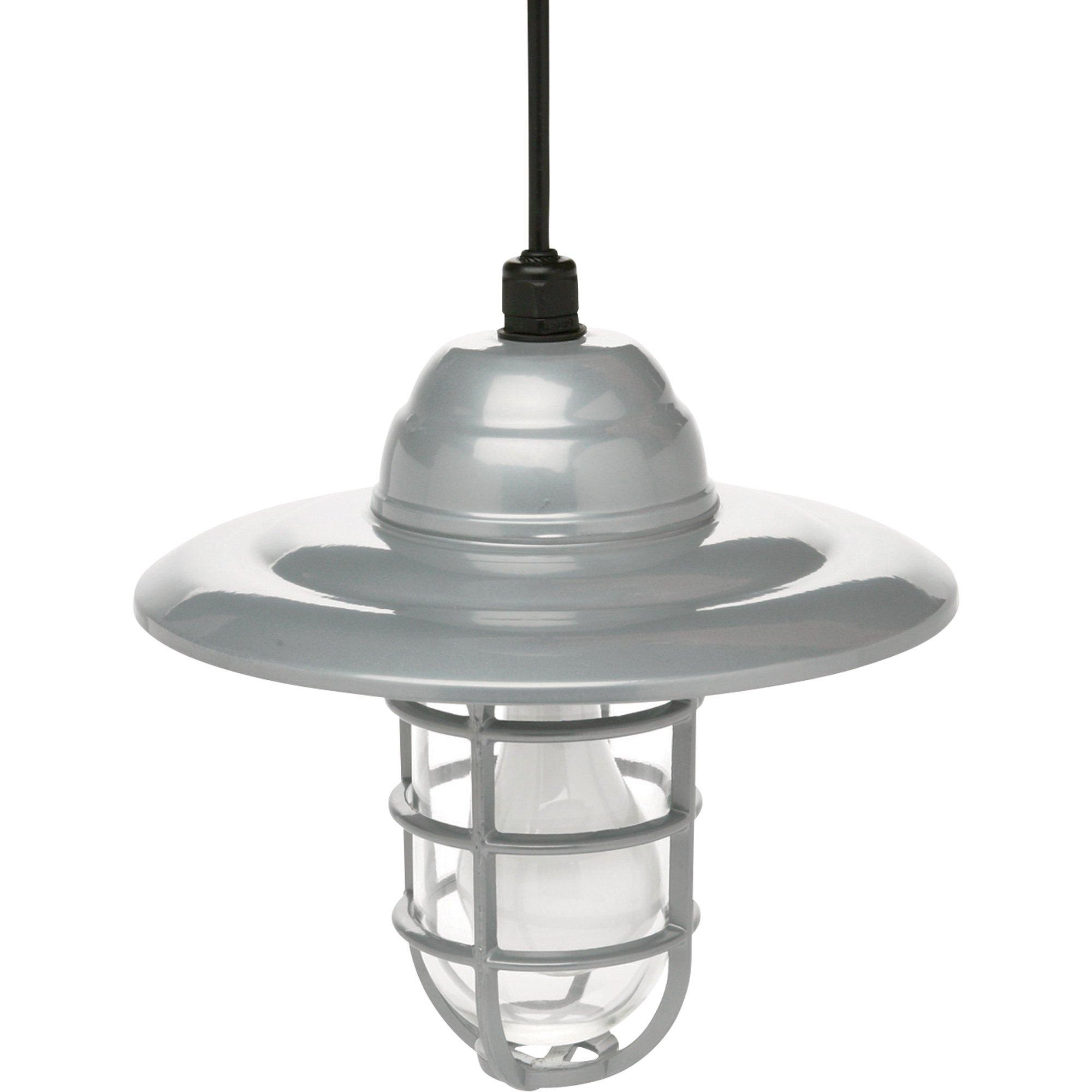 Designers Edge Hanging Outdoor Barn Light — 10in (View 6 of 15)