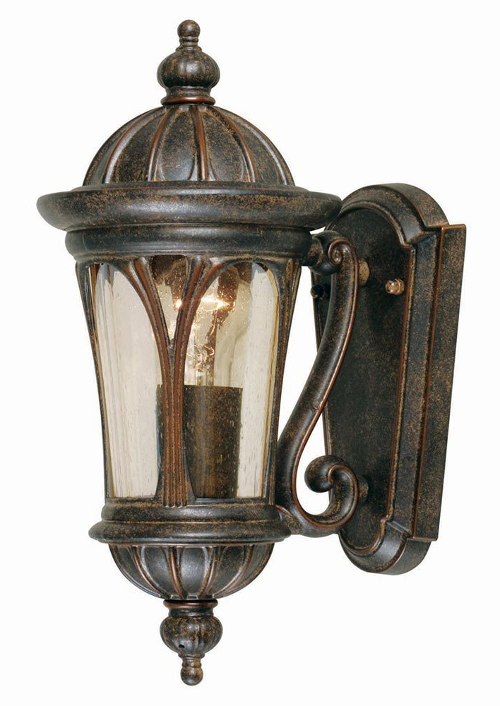 Elstead New England 1 Light Small Outdoor Wall Lantern Bronze Intended For Most Current Caroline Outdoor Wall Lanterns (View 12 of 15)