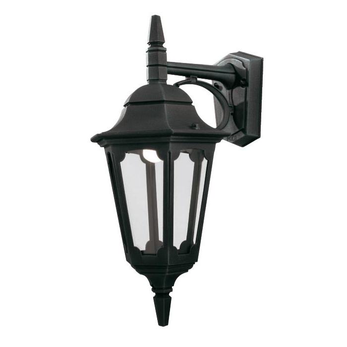Elstead Parish 1 Light Downward Outdoor Wall Lantern Black Pertaining To Most Popular Ciotti Black Outdoor Wall Lanterns (View 10 of 15)