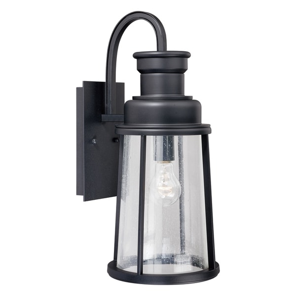 Famous Krajewski 8'' H Wall Lanterns Throughout Shop Coventry 1 Light Dusk To Dawn Bronze Cylinder Outdoor (View 9 of 15)