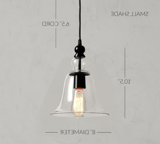 Famous Leslie Black 13.5'' H Outdoor Barn Lights With Regard To Rustic Glass Outdoor Pendant,  (View 8 of 15)