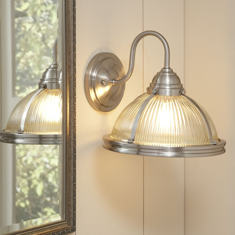 Fashionable Cantrall 2 – Bulb 15'' H Outdoor Armed Sconces With Birch Lane™ Upton 1 Light Armed Sconce & Reviews (View 8 of 15)