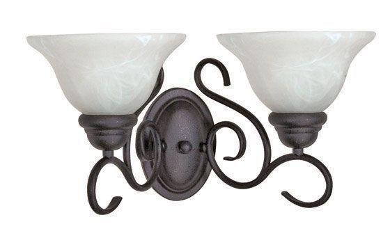 Fashionable Sheard Textured Black 2 – Bulb Wall Lanterns Throughout Nuvo Lighting 60/388 Textured Black Castillo 2 Light 17  (View 13 of 15)