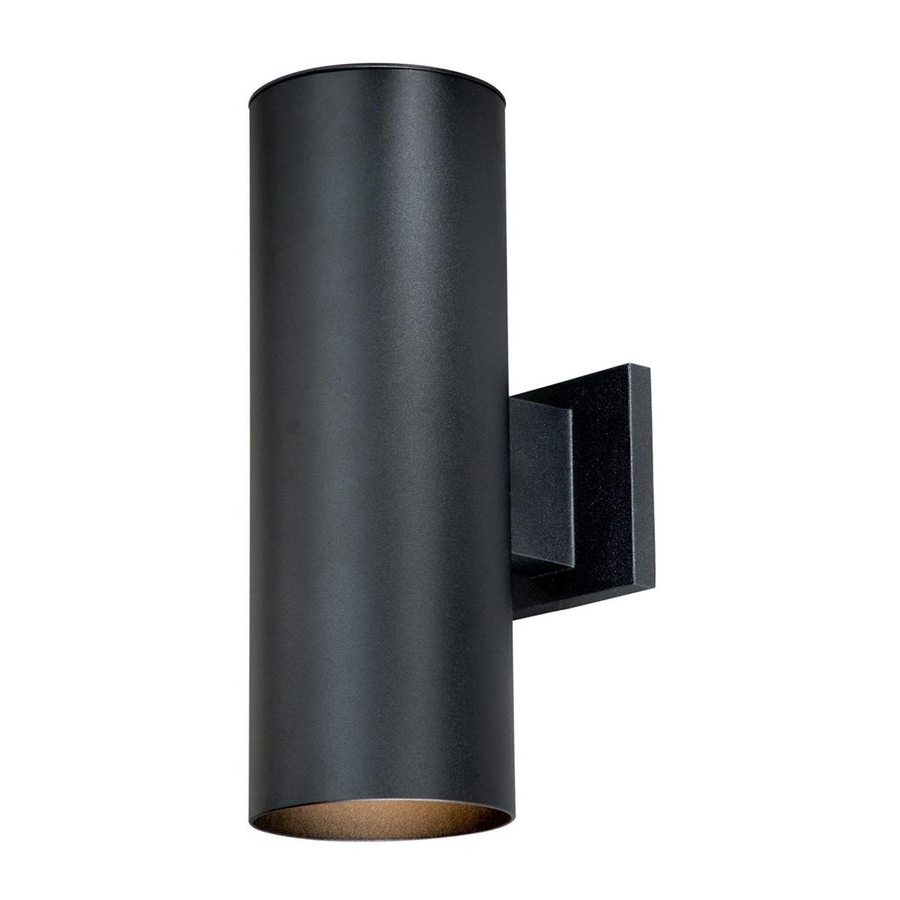 Fashionable Shop Cascadia Lighting Chiasso 14.25 In H Textured Black For Castellanos Black  (View 13 of 15)