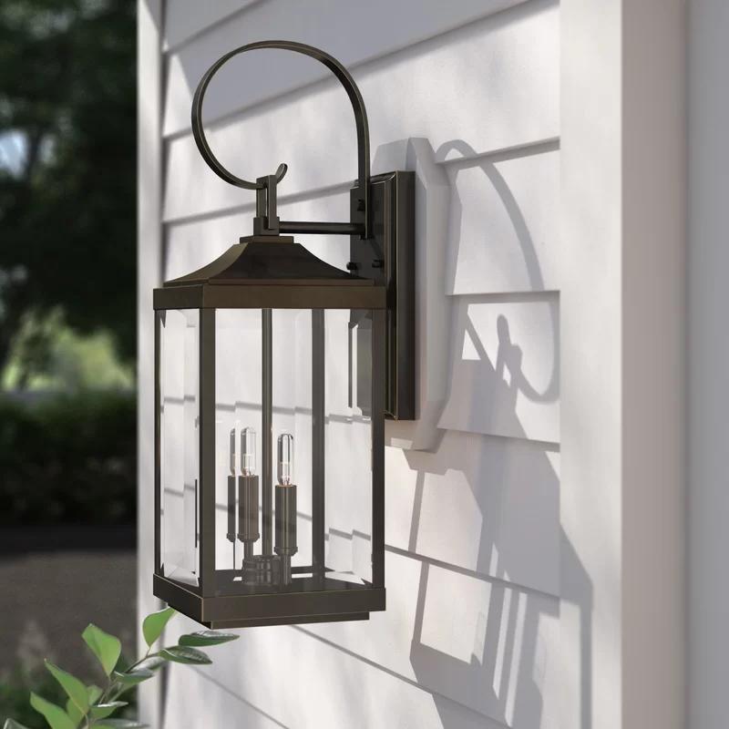 Fashionable Sol 72 Outdoor Charleston 2 Light Outdoor Wall Lantern Regarding Chicopee 2 – Bulb Glass Outdoor Wall Lanterns (View 8 of 15)