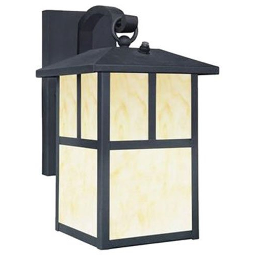 Favorite Brierly Oil Rubbed Bronze/black 12'' H Outdoor Wall Lanterns In Westinghouse 6732800 Burnham One Light Exterior Wall (View 6 of 15)