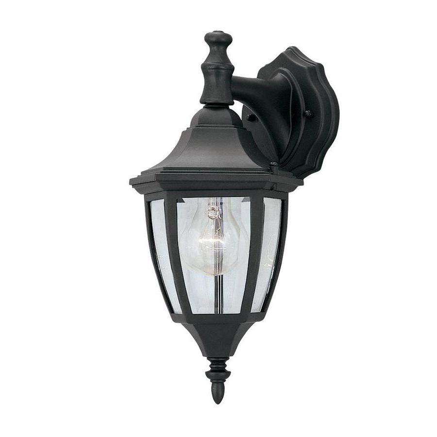 Favorite Castellanos Black 14.25'' H Outdoor Wall Lanterns In Cascadia Lighting  (View 8 of 15)