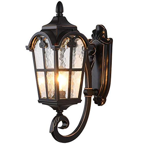Favorite Ciotti Black Outdoor Wall Lanterns Throughout Lonedruid Outdoor Wall Light Fixtures Black Roman  (View 11 of 15)