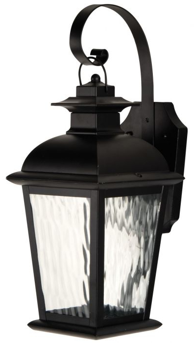 Favorite Z5704 Obo Led – 1 Light Small Led Wall Mount Throughout Tilley Olde Bronze Water Glass Outdoor Wall Lanterns (View 10 of 15)