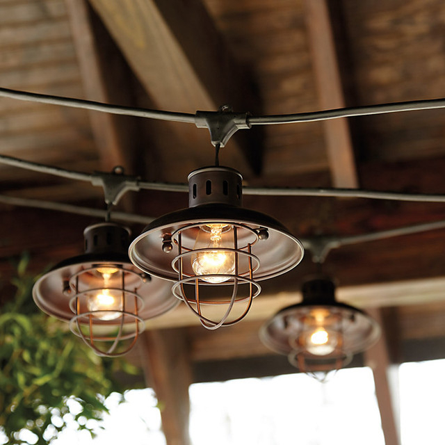 Journey Outdoor Wall Lanterns Within Preferred Industrial String Lights Outdoor – 10 Ways To Give A (View 1 of 9)