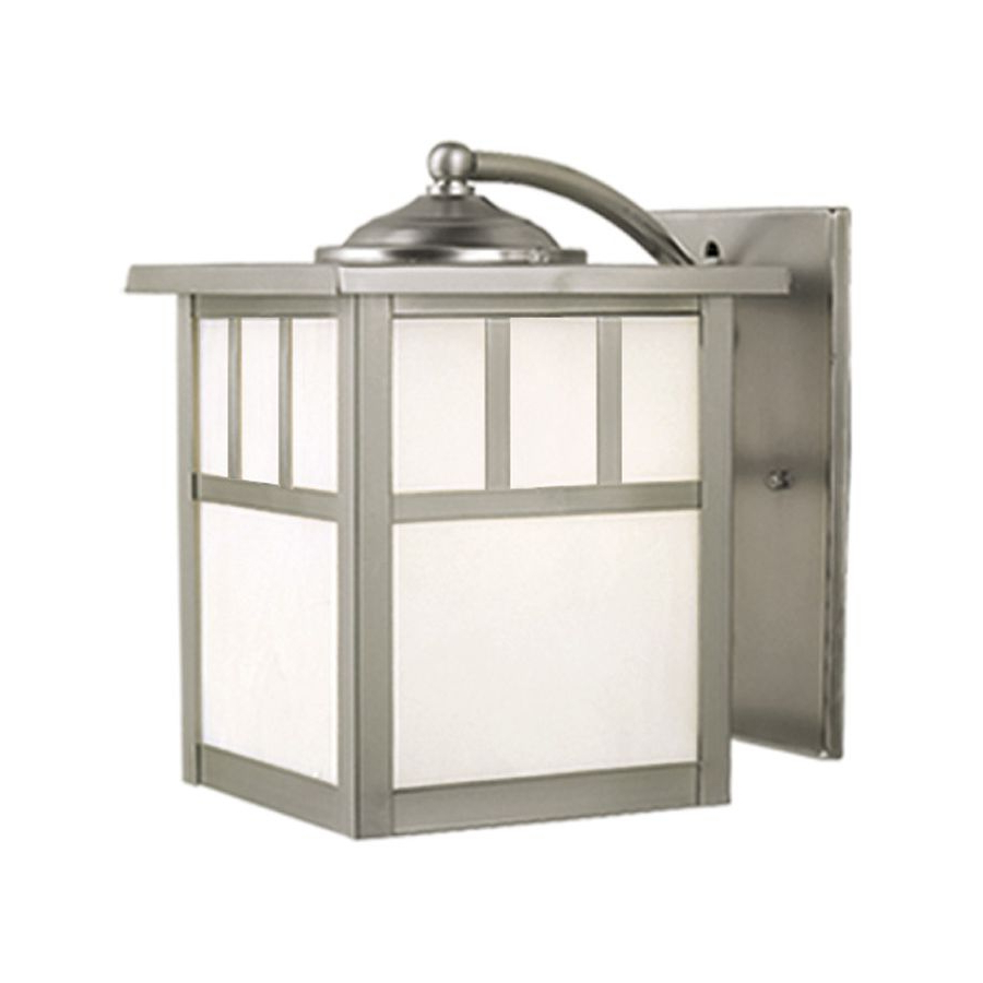 Krajewski 8'' H Wall Lanterns With Preferred Cascadia Lighting Mission 9 In H Stainless Steel Outdoor (View 13 of 15)