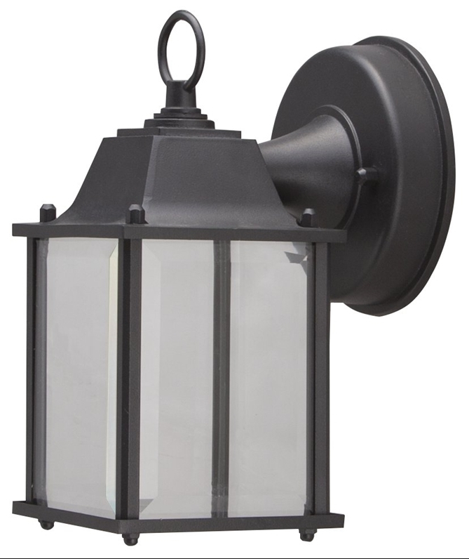 Latest Boston Harbor Led Outdoor Wall Lantern, Clear Beveled Regarding Gillian Beveled Glass Outdoor Wall Lanterns (View 6 of 15)