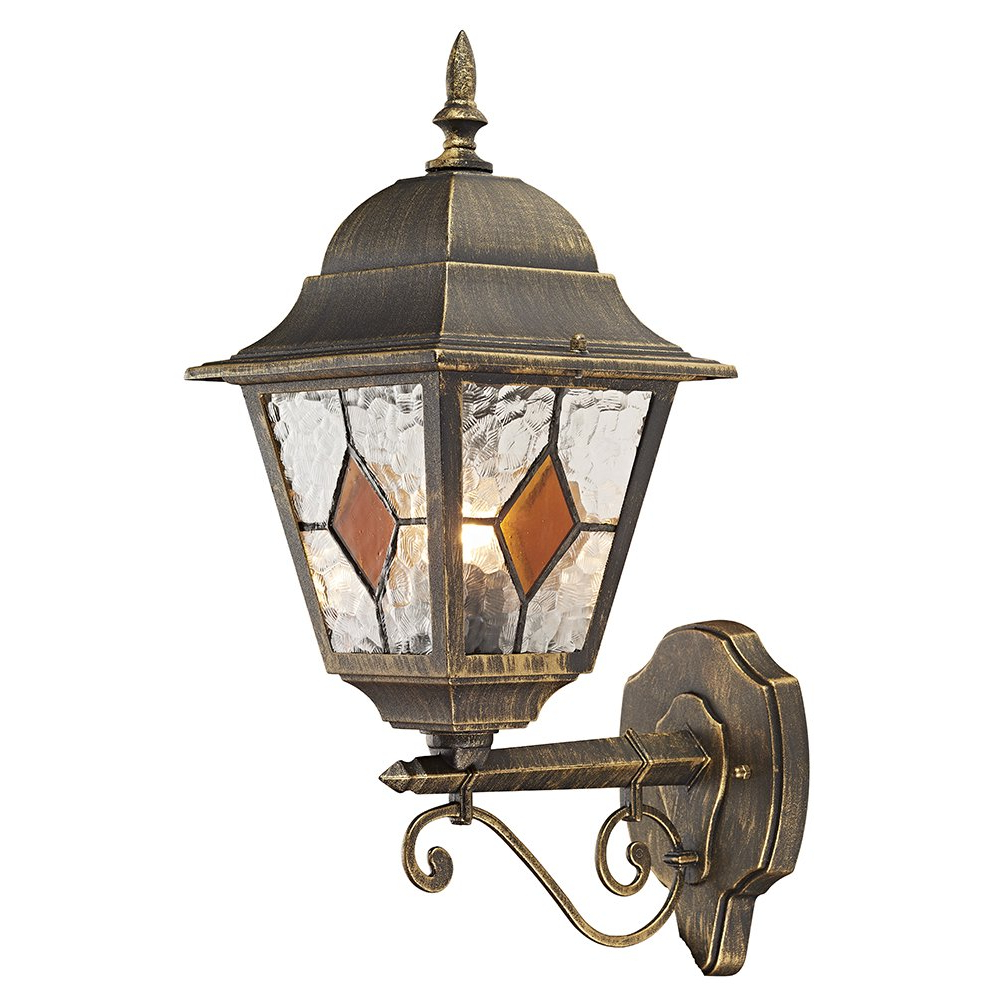 Latest Gillian Beveled Glass Outdoor Wall Lanterns With Regard To Https://haysoms/outdoor Lighting/blackgold Cast (View 14 of 15)