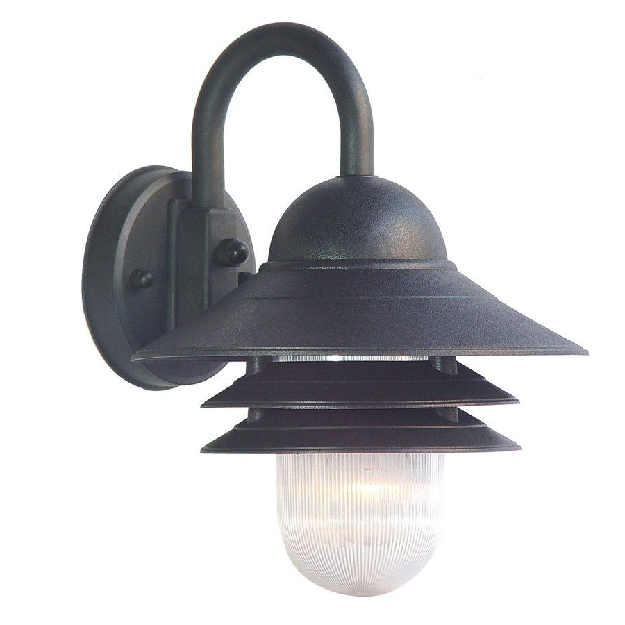 Latest Mccay Matte Black Outdoor Wall Lanterns Inside $27 – Lowes – Acclaim Lighting Mariner 13 In H Matte Black (View 11 of 15)