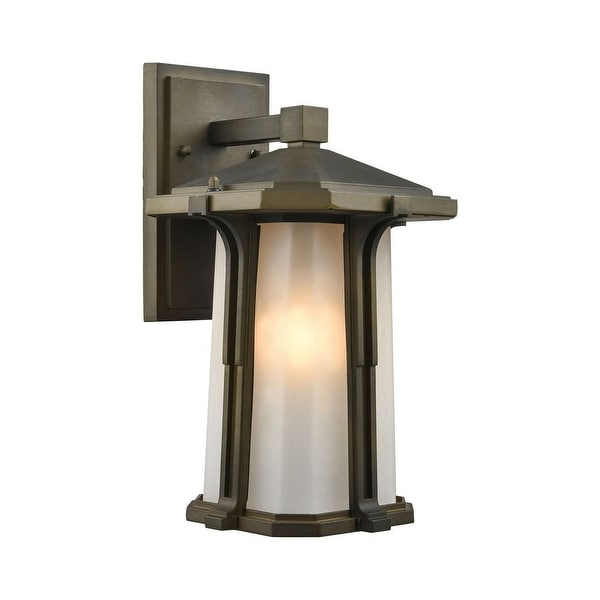 Latest Shop Rectangular One Light Outdoor Mission Wall Lantern Intended For 1 – Bulb Outdoor Wall Lanterns (View 12 of 15)