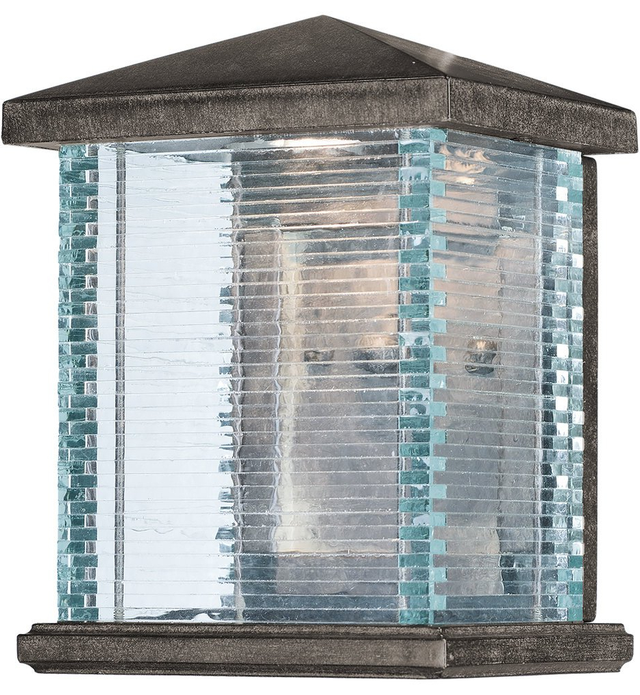 """Maxim Lighting – 55732clet – Triumph 9.75"""" Outdoor Wall Intended For Preferred Gillett  (View 8 of 15)"""