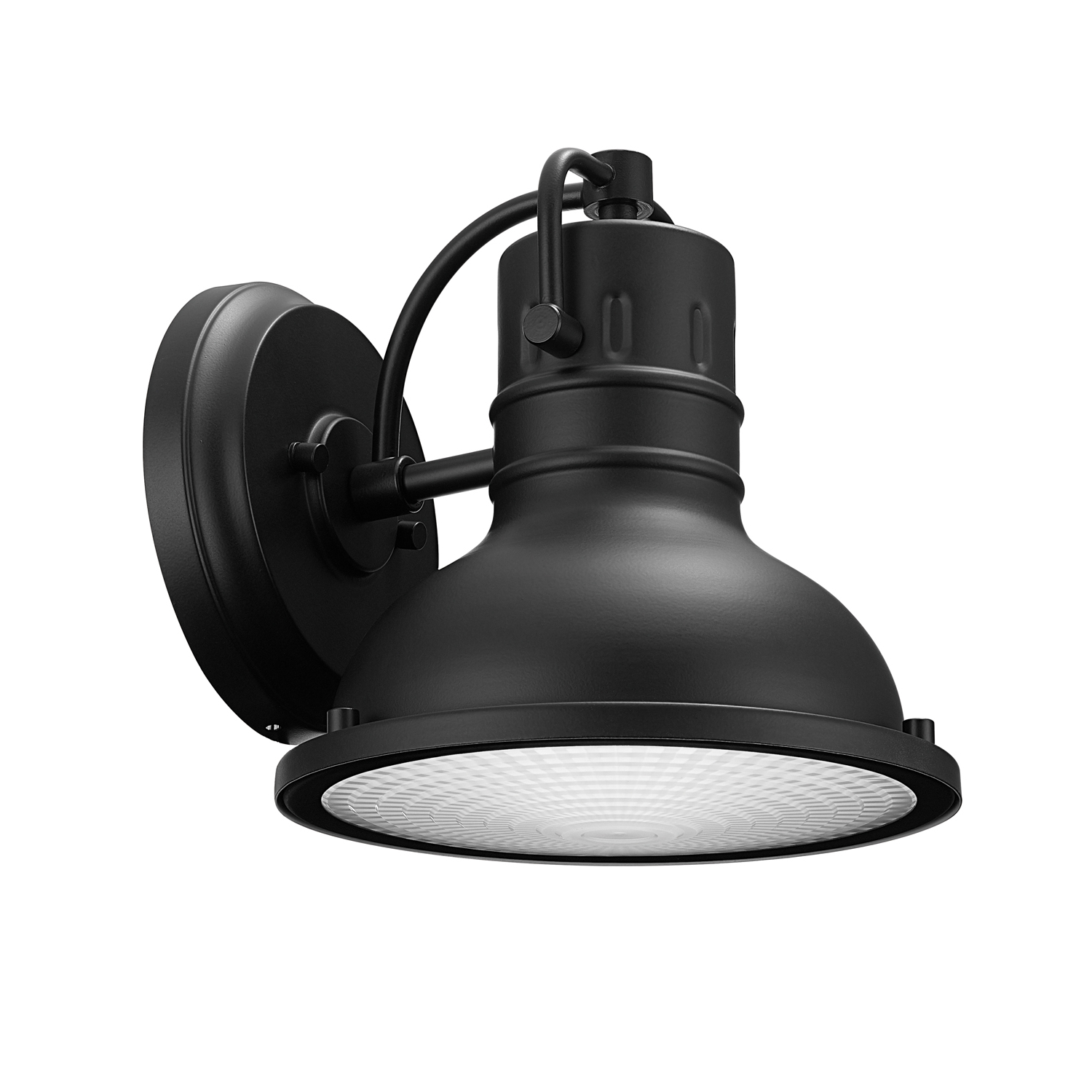 Most Current Globe Electric Harbor 1 Light Matte Black Outdoor Indoor Throughout Mccay Matte Black Outdoor Wall Lanterns (View 8 of 15)