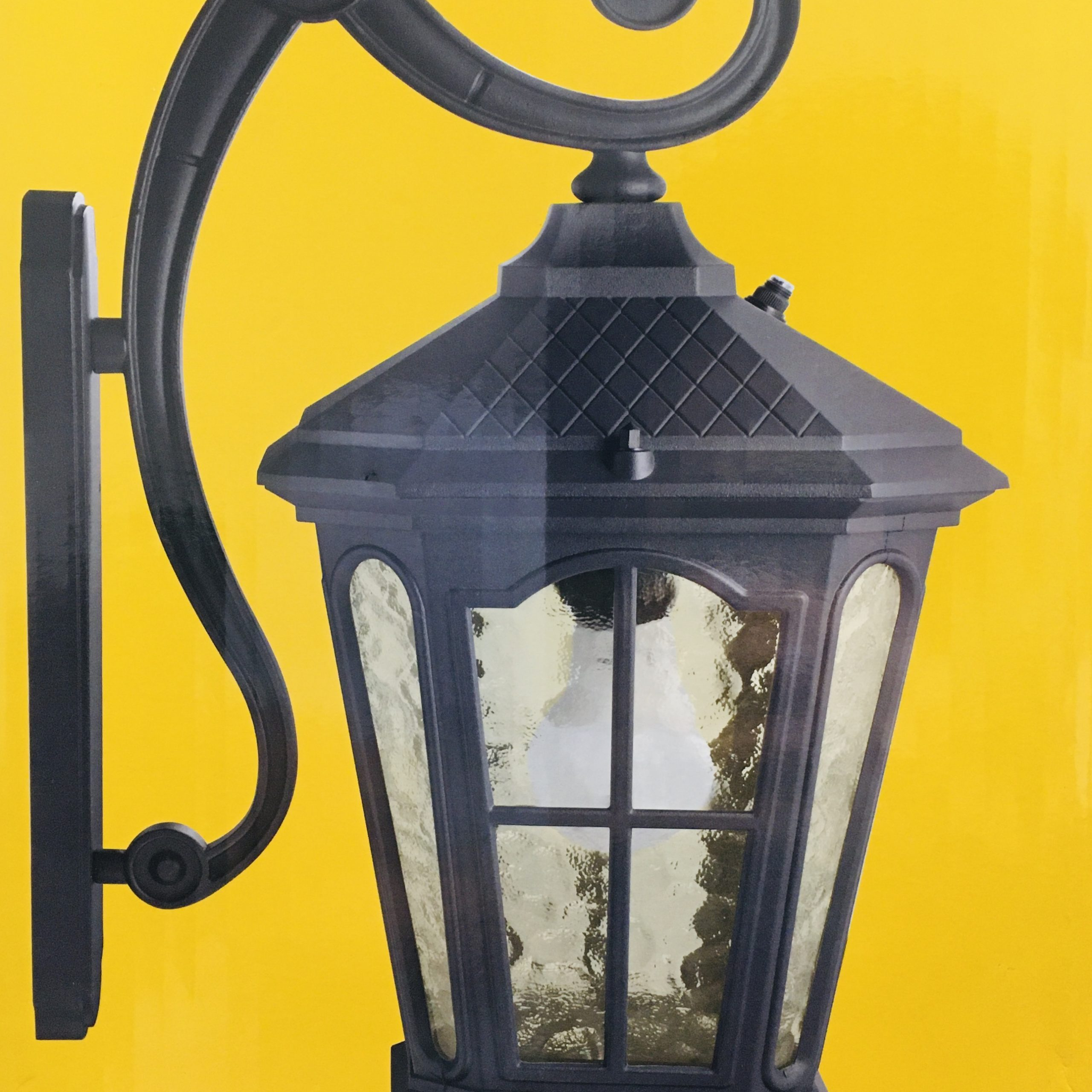Featured Photo of Manteno Black Outdoor Wall Lanterns with Dusk to Dawn