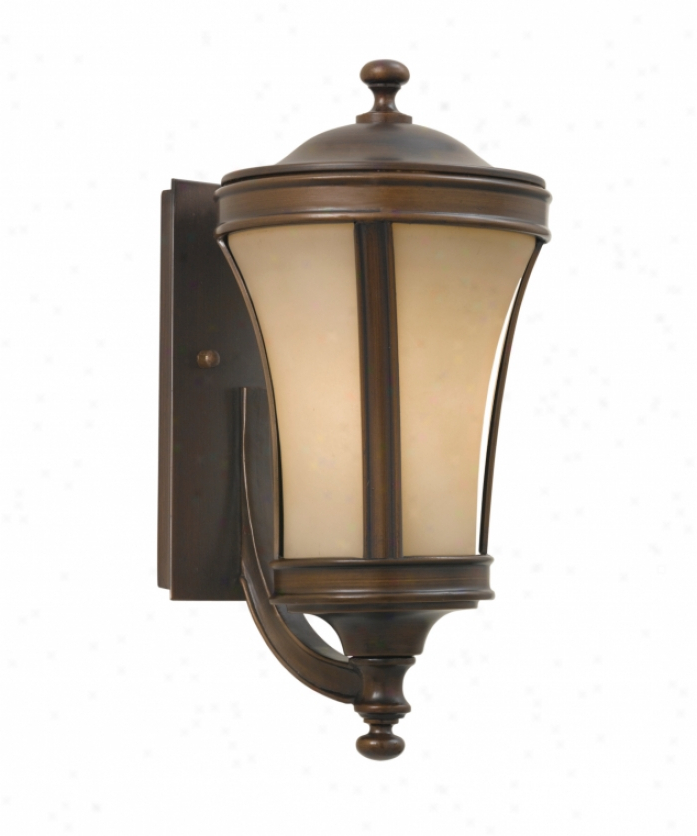 Most Current Needham Dark Bronze 17'' H Seeded Glass Outdoor Flush Mount Within Tracy Porter Collection 6 9927 3 300 Persimmon 3 Light (View 8 of 15)