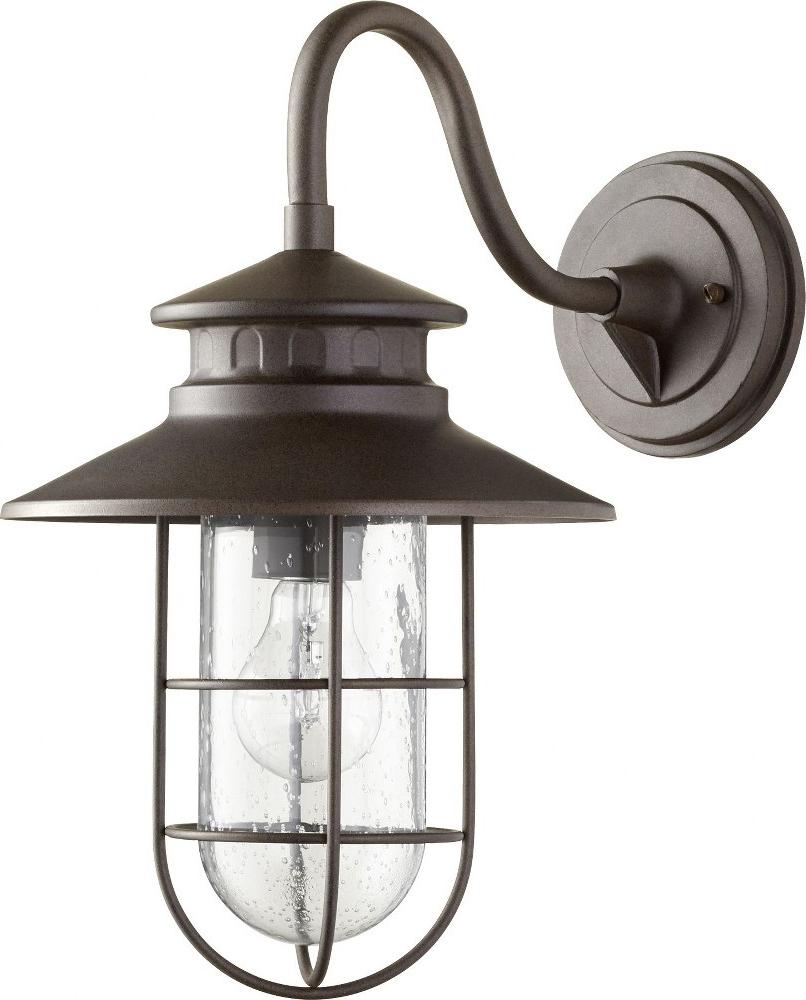 Most Current Quorum Lighting 7697 86 Moriarty – One Light Medium Regarding Crandallwood  (View 15 of 15)
