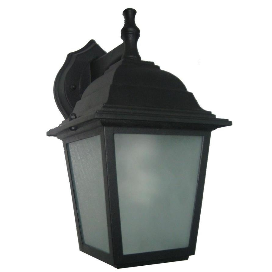 Most Popular Clarence Black 10'' H Outdoor Wall Lanterns Within Portfolio  (View 2 of 15)
