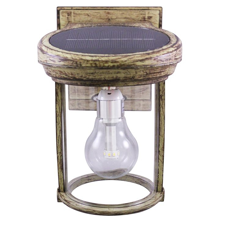 Most Popular Gama Sonic Solar Coach Light 7.5 In H Weathered Bronze Within Cano  (View 8 of 15)