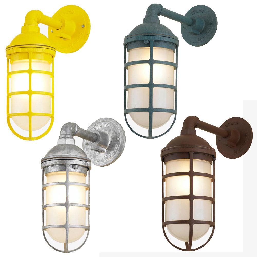 Most Popular Nayen Black 23'' H Wall Lanterns With Regard To Hi Lite Manufacturing Rlm Saucer Vapor Jar Outdoor Wall (View 15 of 15)